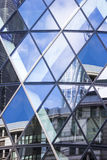 Architecture of London, business district, 30 St Mary Axe Royalty Free Stock Photography