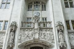 Supreme Court London Royalty Free Stock Images