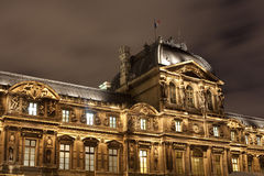 Architecture of Louvre palace Paris Royalty Free Stock Photography