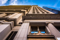Architecture in Lower Manhattan, New York. Stock Photography