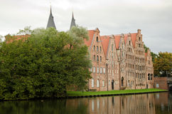 Architecture in Lubeck Royalty Free Stock Image