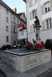 Architecture of Lucerne, Switzerland Stock Photography