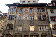 Architecture of Lucerne, Switzerland Royalty Free Stock Photography