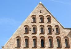 Architecture médiévale de Danzig Photographie stock libre de droits