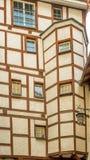 Architecture médiévale typique d'une maison dans Chur Photographie stock