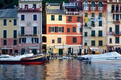 Architecture méditerranéenne colorée dans Portofino Photographie stock