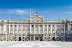 Architecture of Madrid, the capital of Spain Stock Photos