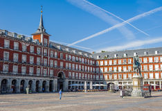 Architecture of Madrid, the capital of Spain Royalty Free Stock Photo