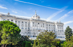 Architecture of Madrid, the capital of Spain Royalty Free Stock Images
