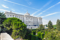 Architecture of Madrid, the capital of Spain Stock Photo