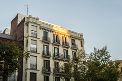 Architecture in Madrid Royalty Free Stock Images