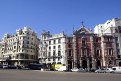 Architecture in Madrid Sol Royalty Free Stock Image