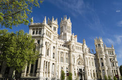 Architecture in Madrid, Spain Royalty Free Stock Images