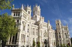 Architecture in Madrid, Spain Royalty Free Stock Photography