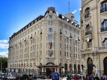 Architecture of Madrid, Spain Royalty Free Stock Photos