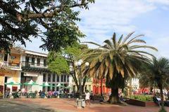 Architecture, Main Park, Jericó, Antioquia, Colombia Royalty Free Stock Photo
