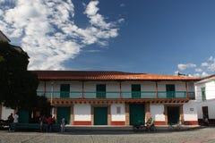 Architecture at Main Park, Santa Fe, Antioquia, Colombia Royalty Free Stock Photography