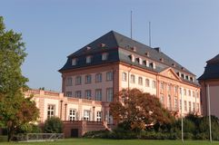 Architecture of Mainz Royalty Free Stock Images