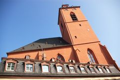 Architecture of Mainz Royalty Free Stock Photography