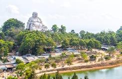 Architecture Maitreya Bouddha sur la montagne Image libre de droits