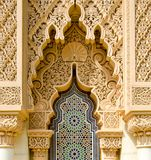 Architecture marocaine traditionnelle Images libres de droits