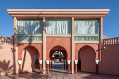 Architecture in Marrakesh, Morocco Stock Photography