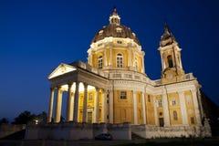 Architecture masterpiece Torino Superga Stock Image