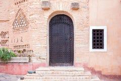 Architecture of Medina village in Agadir, Morocco. Architecture of new Medina village by Coco Polizzi in Agadir, Morocco Stock Images