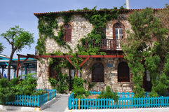 Architecture - mediterranean house in Greece Stock Photos