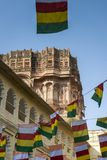 Architecture of Mehrangarh Fort in Jodhpur, India Royalty Free Stock Photography