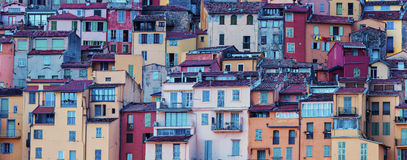 Architecture of Menton. Menton, Provence-Alpes-Cote d'Azur, France Stock Photography