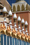 Architecture: Middle Eastern elements of Mughal Style Royalty Free Stock Image