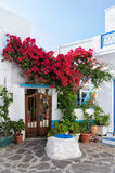 Architecture in Milos island, Cyclades, Greece Royalty Free Stock Photos