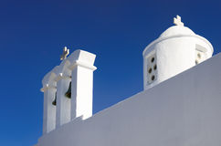 Architecture in Milos island, Cyclades, Greece Stock Photography