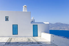 Architecture in Milos island, Cyclades, Greece Royalty Free Stock Image