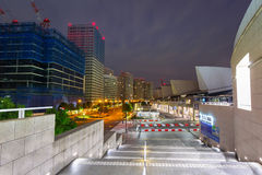 Architecture of Minato Mirai 21 district in Yokohama Royalty Free Stock Photos