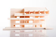 Architecture model Building showing structure Royalty Free Stock Images