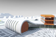 Architecture model Royalty Free Stock Image
