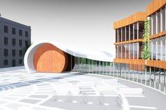 Architecture model Stock Image