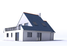Architecture model, house d Royalty Free Stock Images