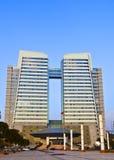 Architecture. Modern architectures of Zhou Shou city,China Stock Image