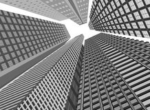 Architecture modern building Royalty Free Stock Photo