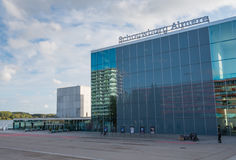 Architecture in the modern city centre of Almere, The Netherland Stock Photos