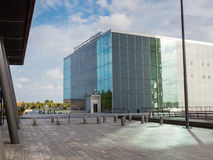 Architecture in the modern city centre of Almere, The Netherland Royalty Free Stock Image