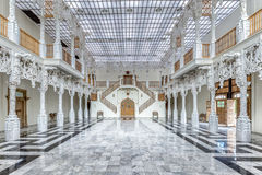 Architecture modern inteior french rococo style. Royalty Free Stock Photography