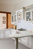 Architecture - A modern kitchen picture Stock Image