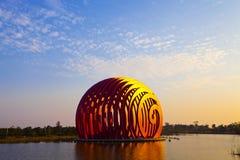 Architecture. Modern landmark  of ZhouShan city,China Stock Photos