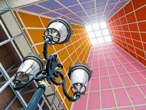 architecture modern post Στοκ Φωτογραφία
