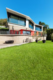 Architecture, modern villa Stock Photography