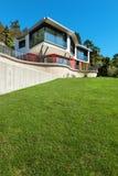 Architecture, modern villa Royalty Free Stock Photography
